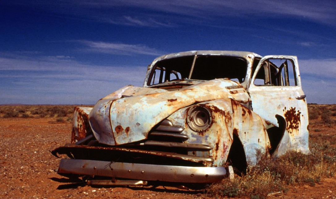 Image of rusted Holden